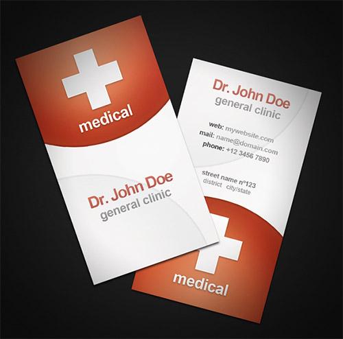 Biglietto da Visita per medici n.7
