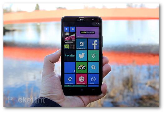 Immagine dello smartphone Nokia Lumia 1320