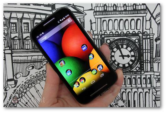 Immagine dello smartphone Moto E