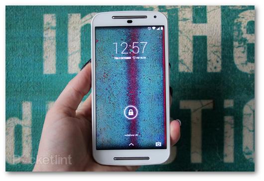 Immagine dello smartphone Moto G (2014)