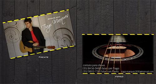 Immagine del biglietto da visita per musicisti n.8