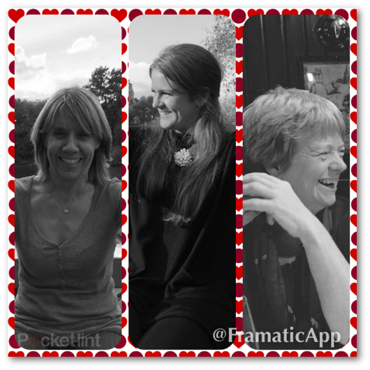 Esempio di collage creato con l'app Framatic