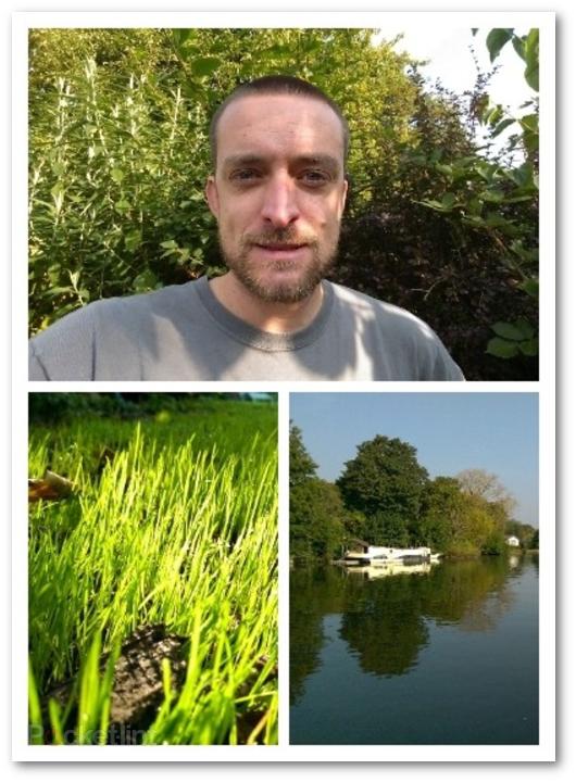 Esempio di collage di foto creato con l'app PhotoCollage