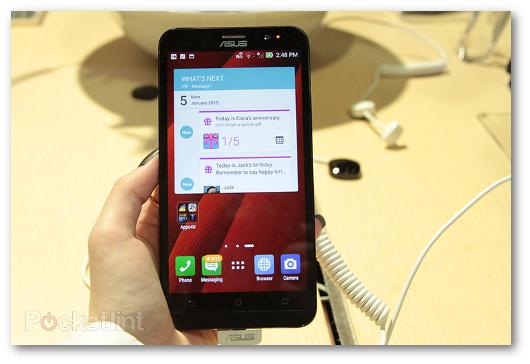 Immagine dello smartphone Asus ZenFone 2