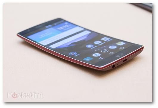 Immagine dello smartphone LG G Flex 2