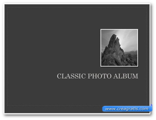 Template The Classic Photo Album per PowerPoint