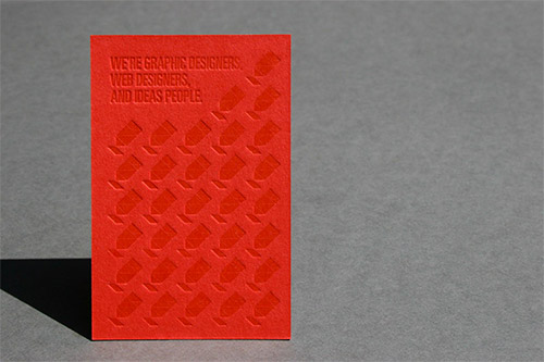 Immagine del biglietto da visita con logo impresso n. 4