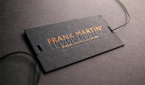 Immagine del biglietto da visita con logo impresso n. 7