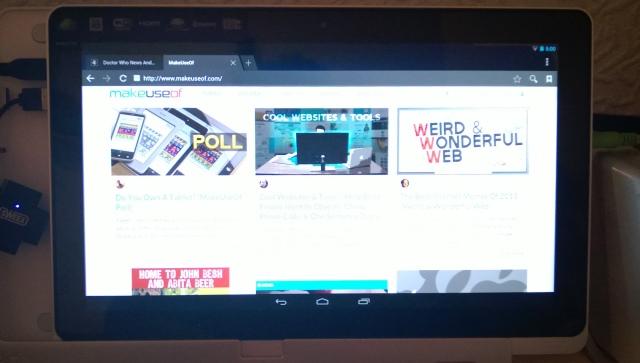 Schermata di Android-x86