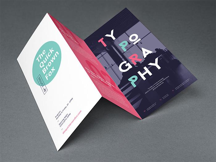 Modello di brochure in PSD da scaricare gratis n.1
