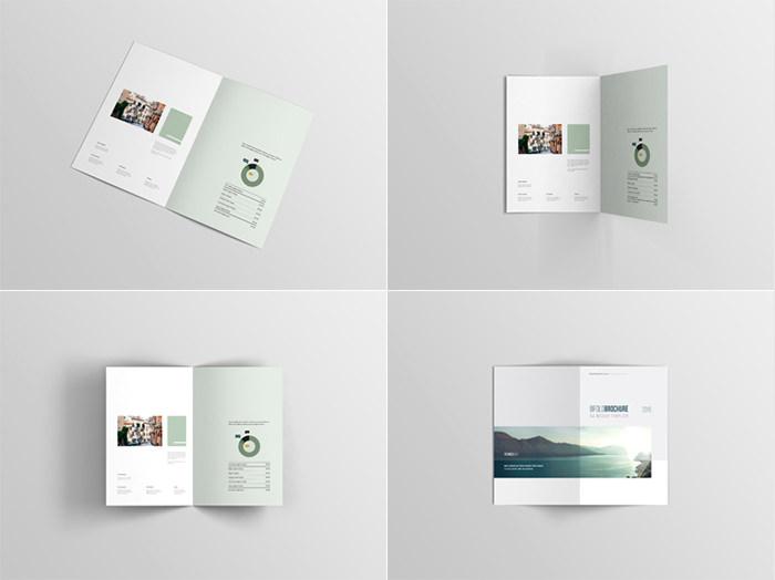 Modello di brochure in PSD da scaricare gratis n.2