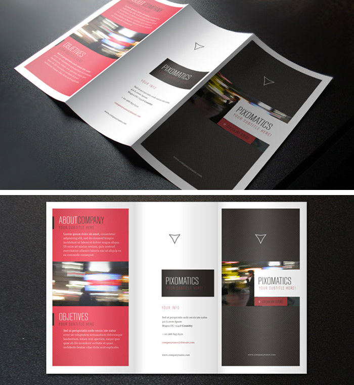 Modello di brochure in PSD da scaricare gratis n.4