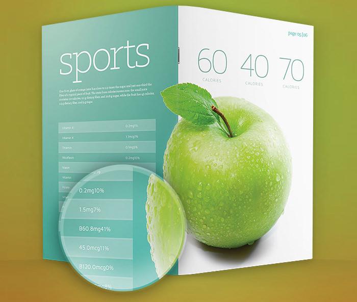 Modello di brochure in PSD da scaricare gratis n.7
