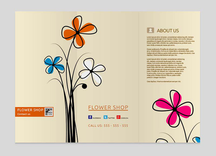 Modello di brochure in PSD da scaricare gratis n.8