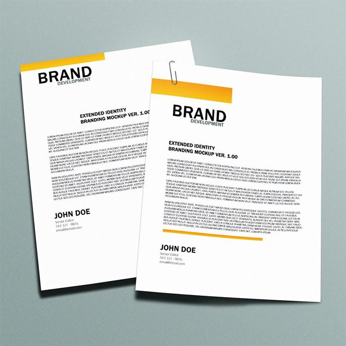 Modello di brochure in PSD da scaricare gratis n.10