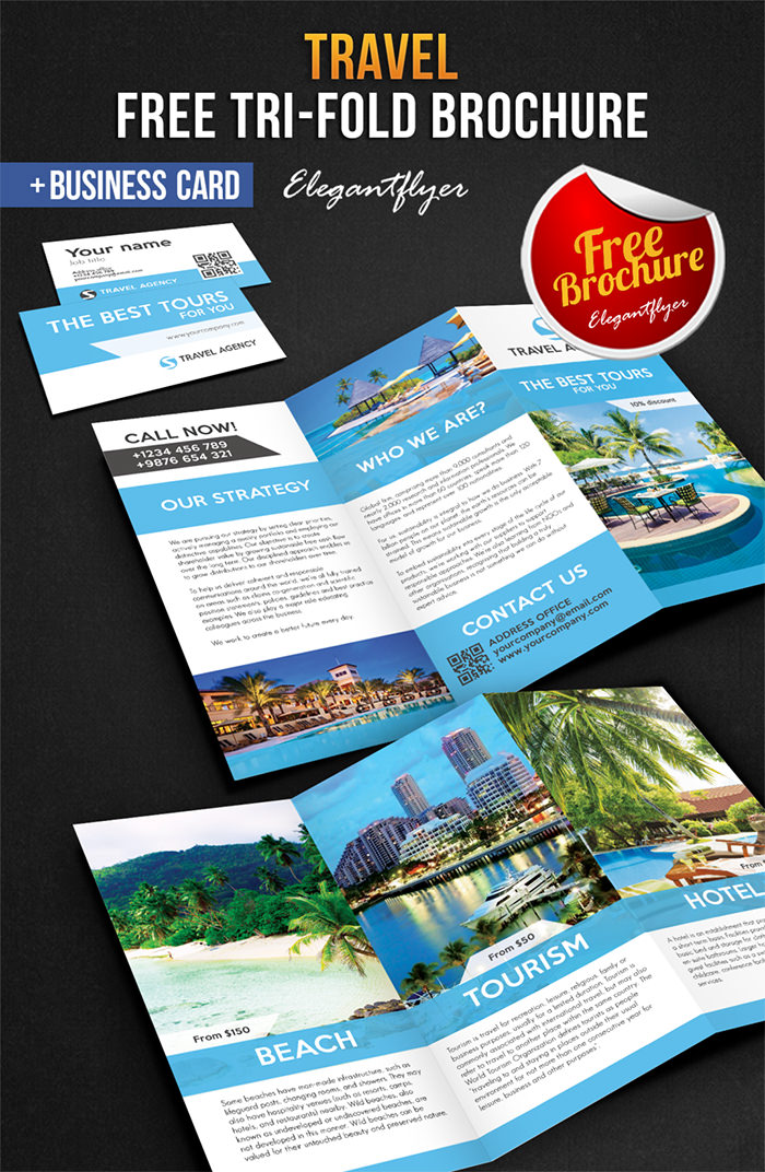 Modello di brochure in PSD da scaricare gratis n.13