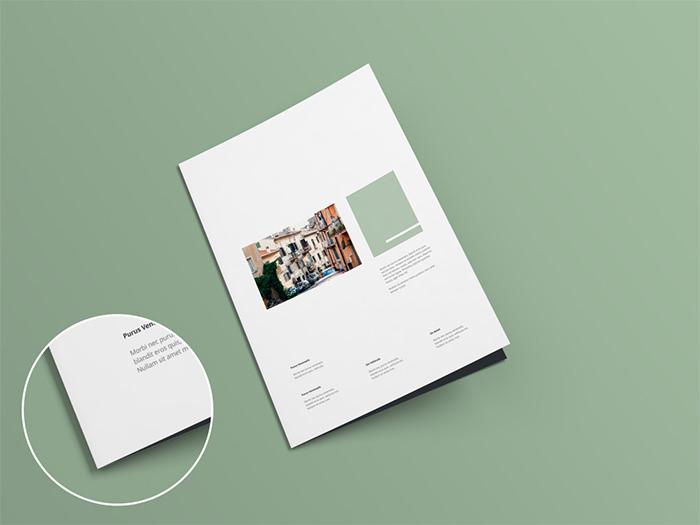 Modello di brochure in PSD da scaricare gratis n.14