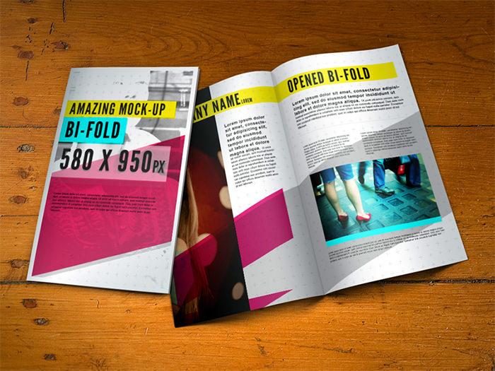 Modello di brochure in PSD da scaricare gratis n.15