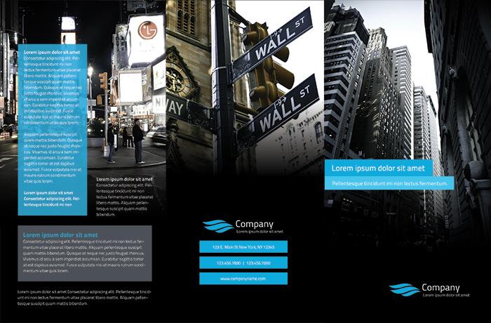 Modello di brochure in PSD da scaricare gratis n.17