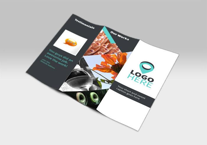 Modello di brochure in PSD da scaricare gratis n.18