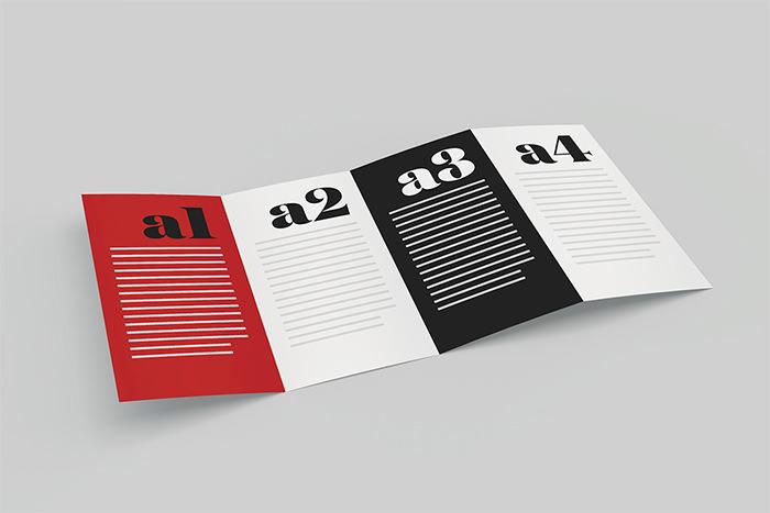 Modello di brochure in PSD da scaricare gratis n.20