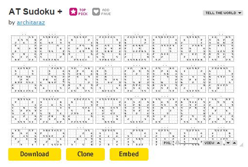 Schermata del programma FontStruct per creare font