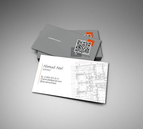 Immagine del biglietto da visita per architetti n.01