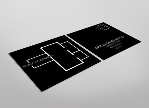 Immagine del biglietto da visita per architetti n.11