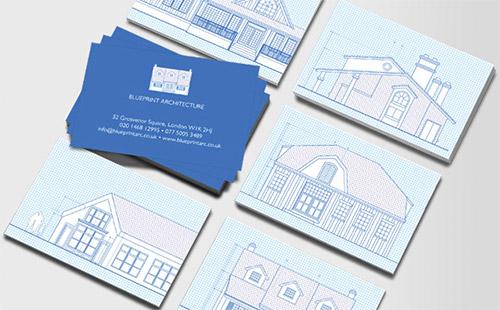 Immagine del biglietto da visita per architetti n.33