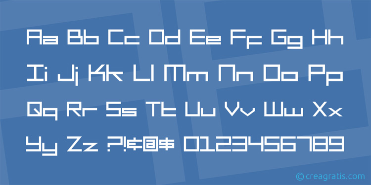 Raccolta di font squadrati da scaricare gratis