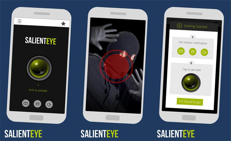 Telecamera di sicurezza su smartphone