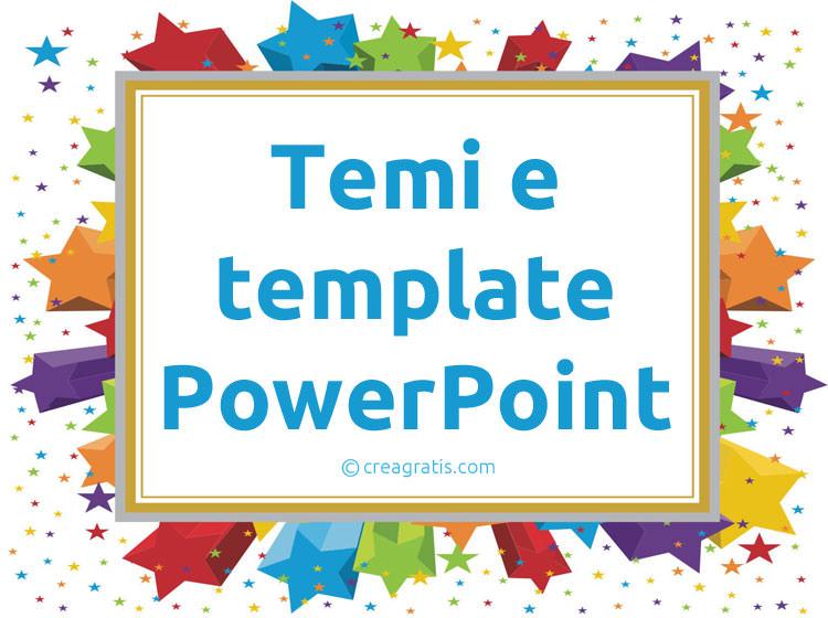 Temi e template PowerPoint gratis