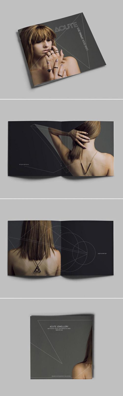 Esempio di brochure quadrata n.03
