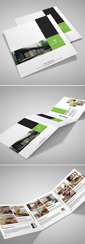 Esempio di brochure quadrata n.06