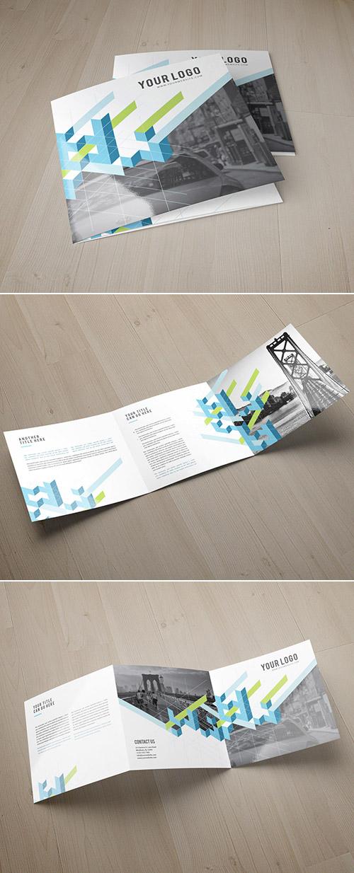 Esempio di brochure quadrata n.07