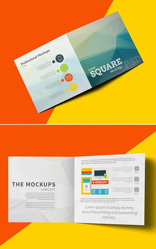 Assez 30 Esempi di Brochure Quadrate alle quali Ispirarvi | CreaGratis.com LN69