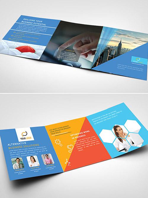 Esempio di brochure quadrata n.10