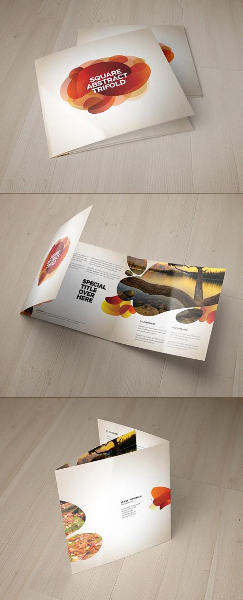 Esempio di brochure quadrata n.11