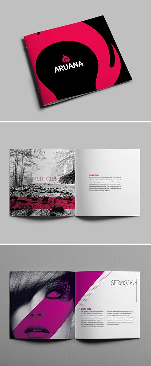 Esempio di brochure quadrata n.12