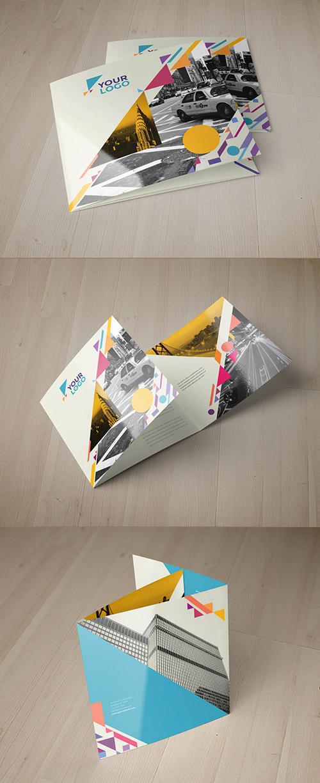 Esempio di brochure quadrata n.13