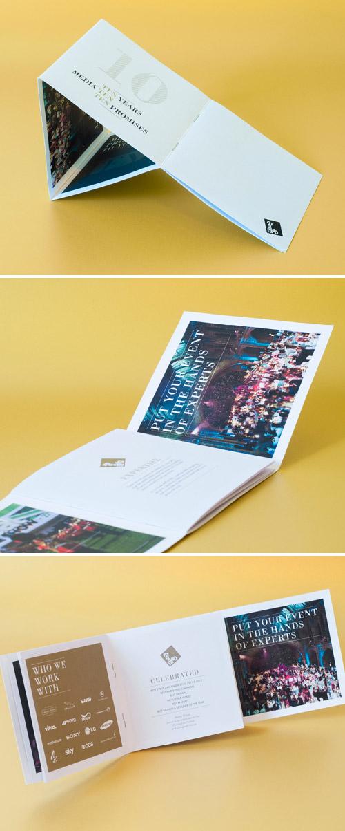 Esempio di brochure quadrata n.14