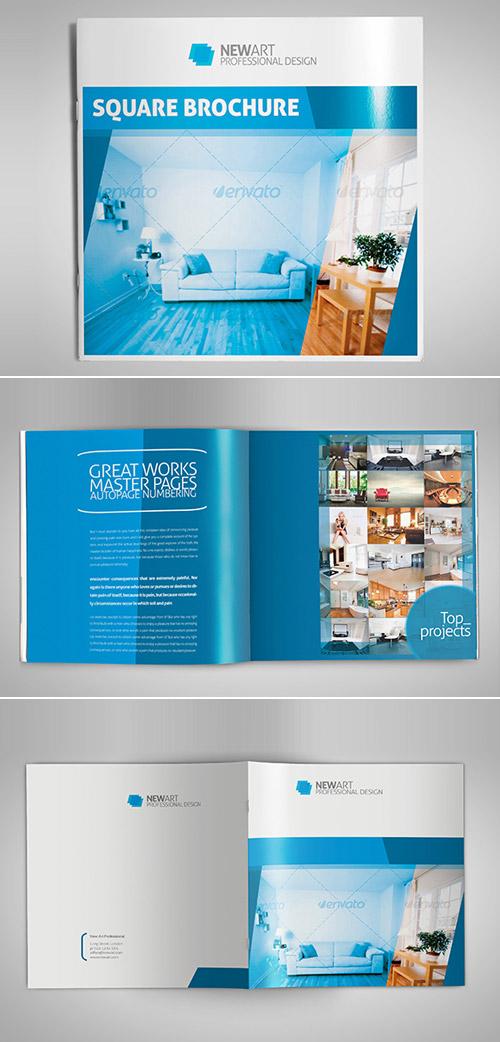 Esempio di brochure quadrata n.15