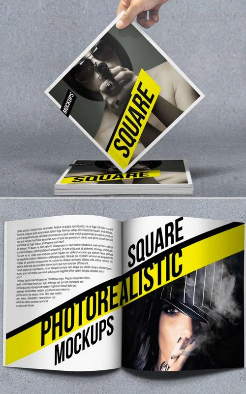 Esempio di brochure quadrata n.18