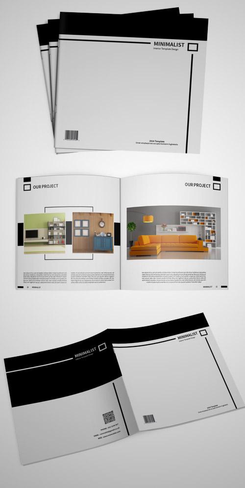 Esempio di brochure quadrata n.19