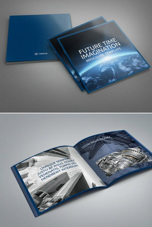 Esempio di brochure quadrata n.20