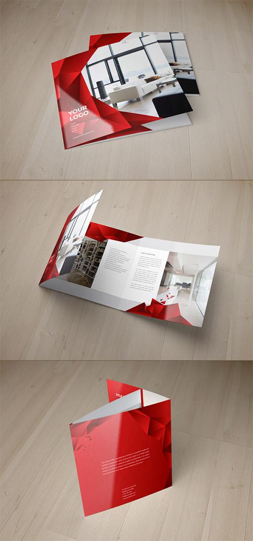 Esempio di brochure quadrata n.21