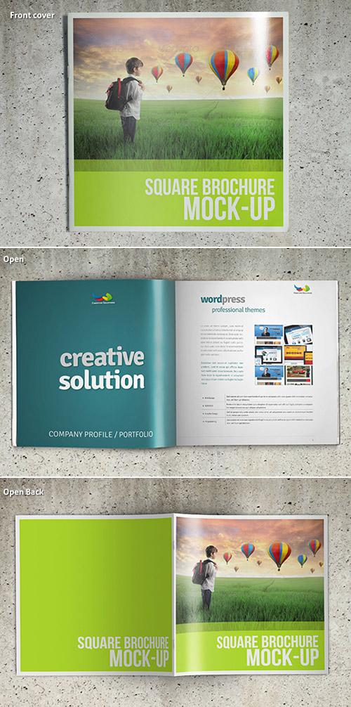 Esempio di brochure quadrata n.22