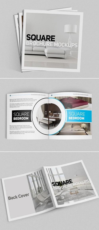 Esempio di brochure quadrata n.23