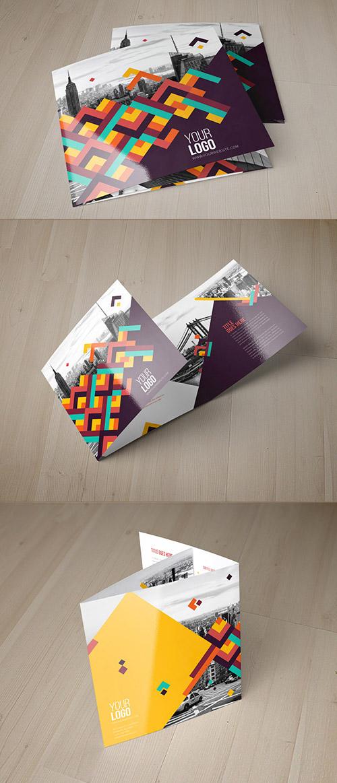 Esempio di brochure quadrata n.24