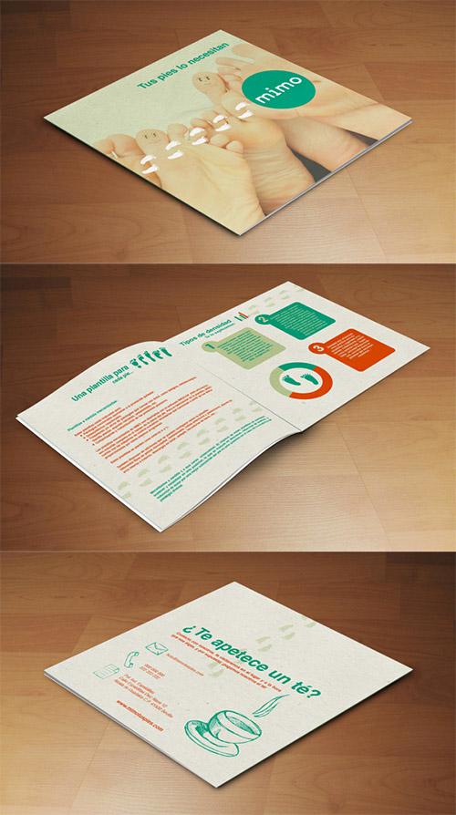 Esempio di brochure quadrata n.30